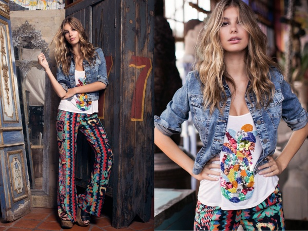 Camila Morrone - Planet Blue Collection / Stylestalker / Ossira (203 фото)