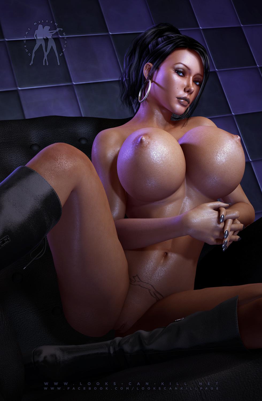 Смотреть фото нарисованные голые большие сиськи 2 фотография