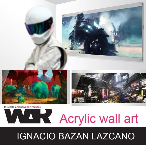 Работы художника Gnacio Bazan Lazcano (162 фото)