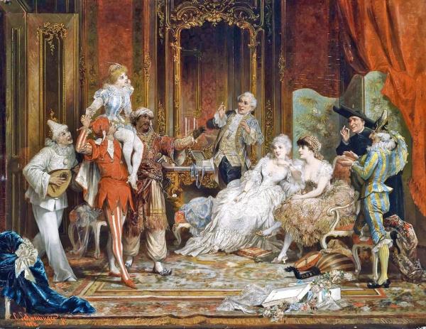 Светские развлечения - Изящный век (23 фото)
