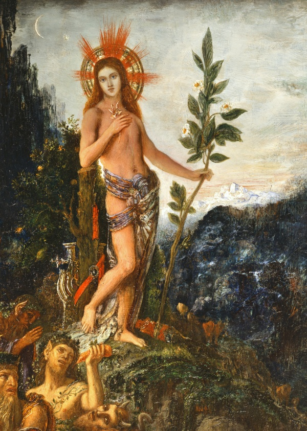 Artworks by Gustave Moreau (131 фото)