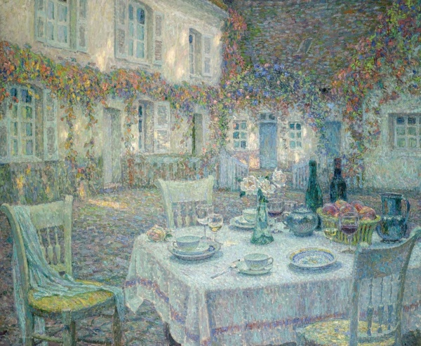 Artworks by Henri Le Sidaner (216 фото)