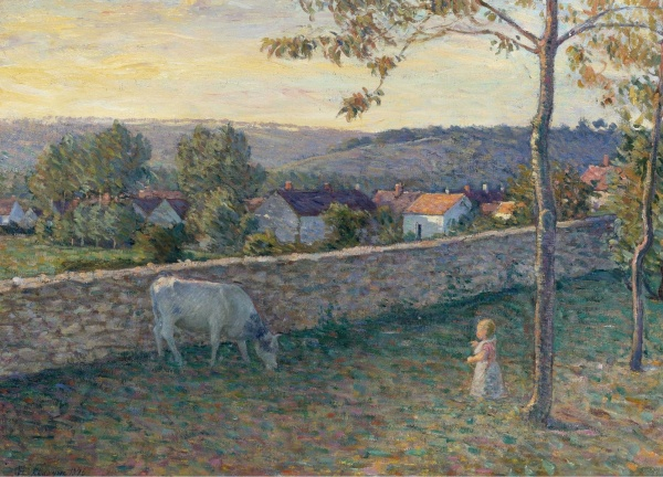 Мир художника Анри Лебаск (Henri Lebasque) (1 часть) (258 фото)