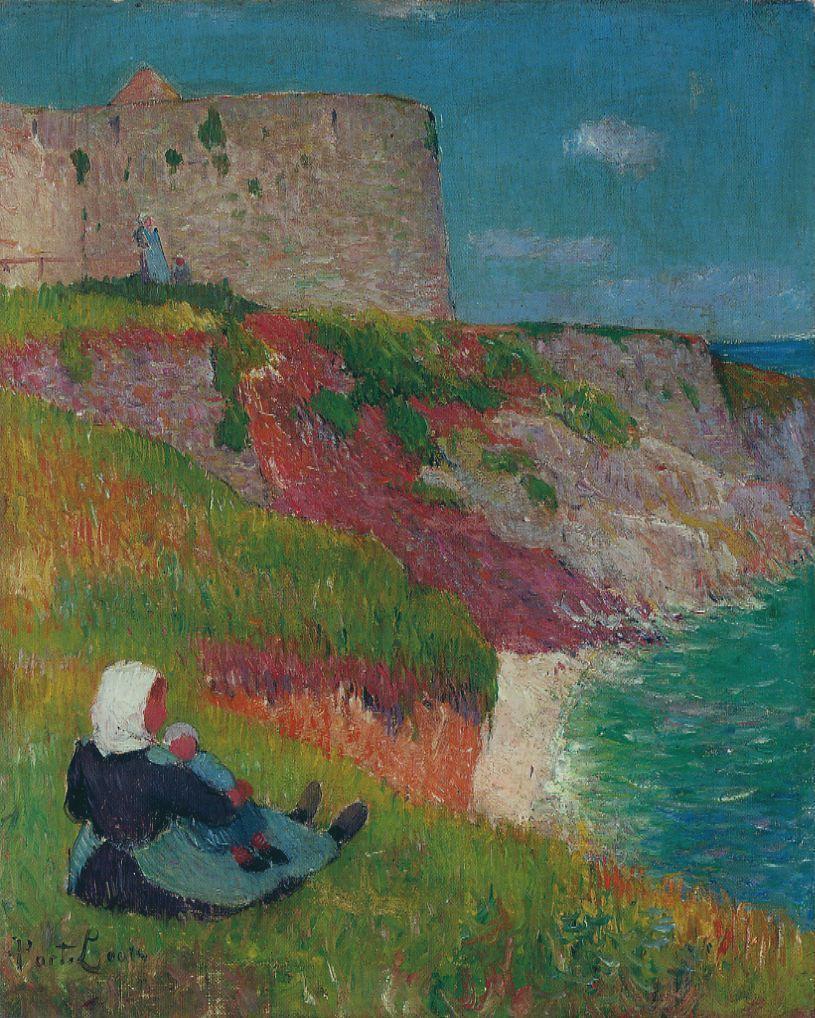 Работы художника Анри Морэ (Henri Moret) (191 фото) » Страница 7 » Картины,  художники, фотографы на Nevsepic