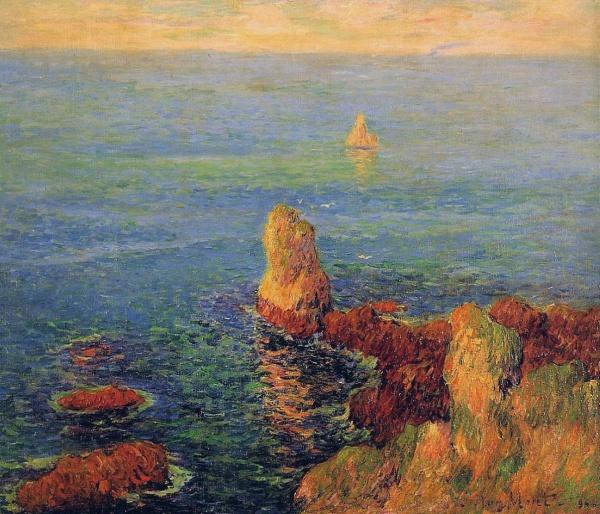 Работы художника Анри Морэ (Henri Moret) (191 фото)