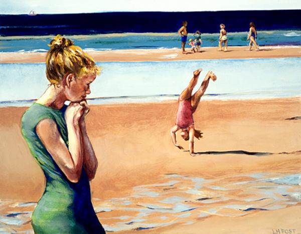 Линда Пост (Linda Post) - американская художница (45 фото)