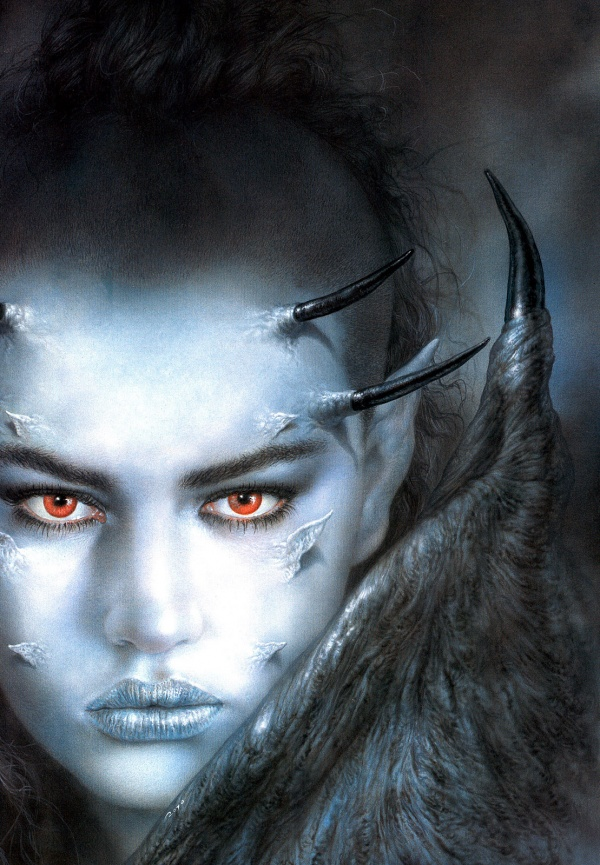Luis Royo Evolution (70 фото)