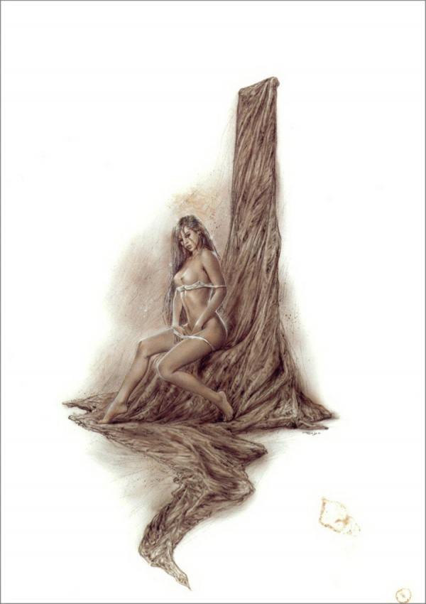 Luis Royo Prohibited Book (37 фото)