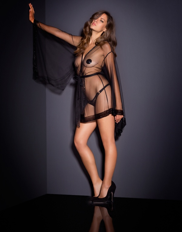 Michea Crawford - Agent Provocateur Lingerie Set 2 (50 фото)