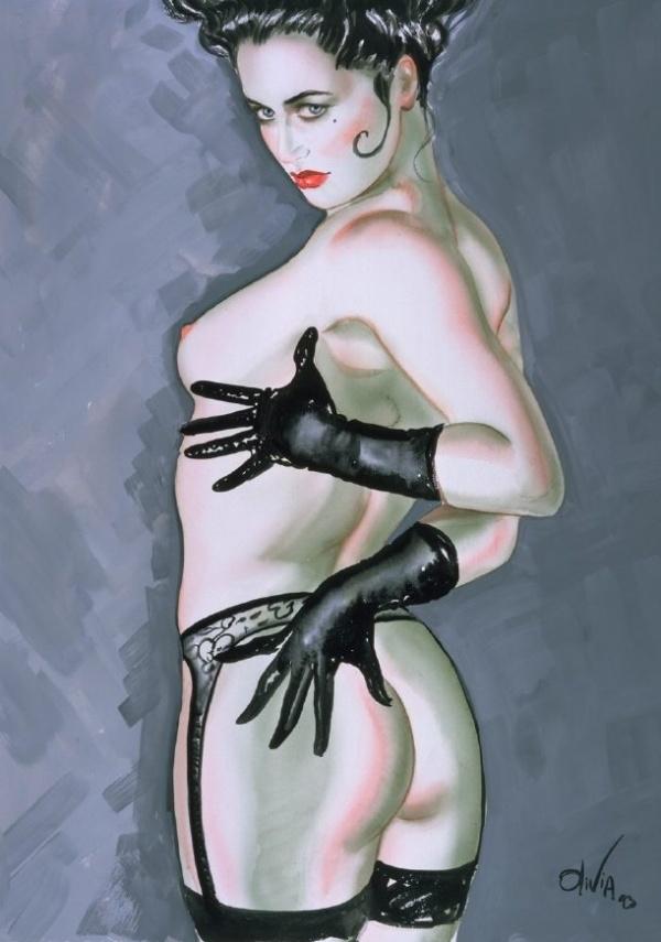 Pin-up Art by Olivia De Bernardis (549 фото)