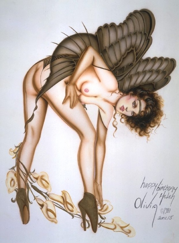 Pin-up Art by Olivia De Bernardis (549 фото)
