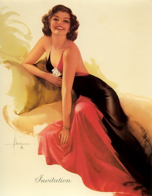 Pin-Up Style by Rolf Armstrong (166 фото)