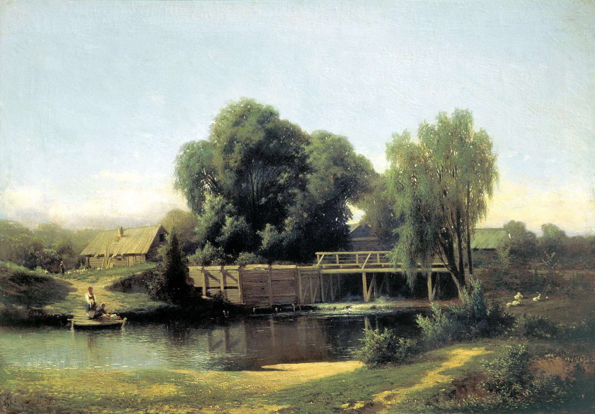 Великие русские художники пейзажисты и их картины
