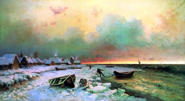 Великие русские пейзажисты (131 фото)