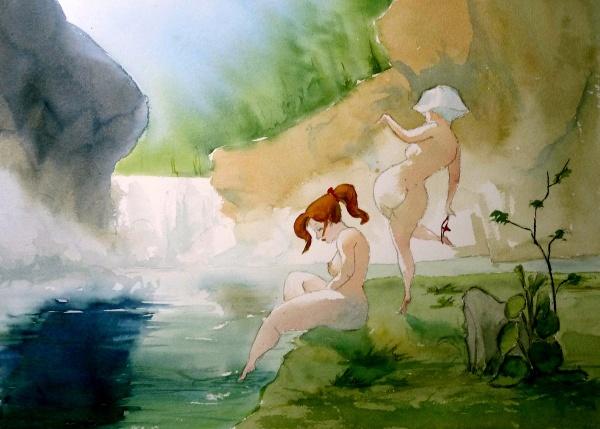 Watercolor emotions \ Акварельное настроение (329 работ)