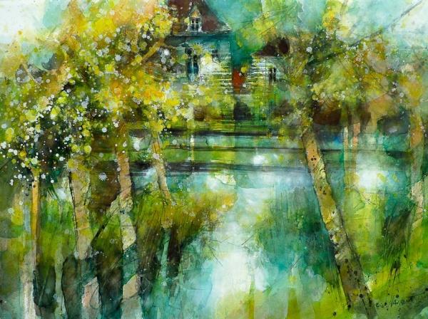 Watercolor emotions  Акварельное настроение (329 работ)