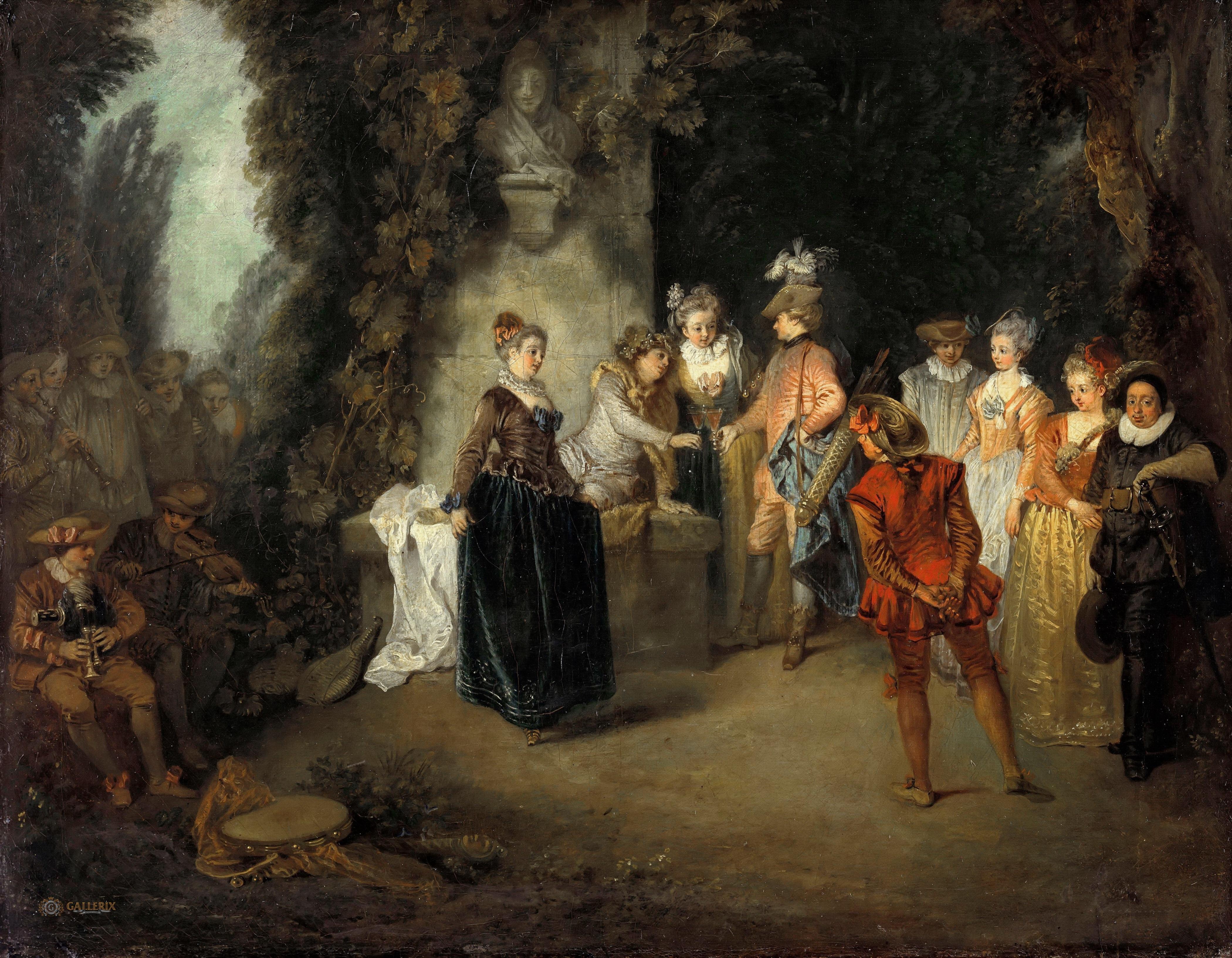 Картинки живописи 18 века