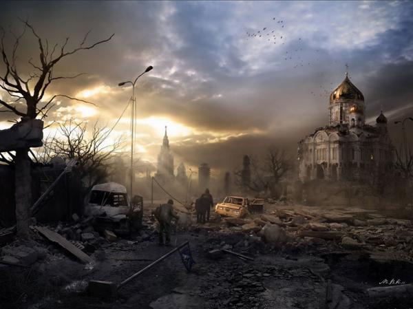 Картины Йонаса Де Ро. Апокалипси (29 фото)