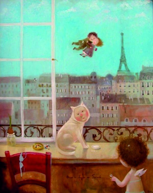 Картины Евгении Гапчинской (101 фото)