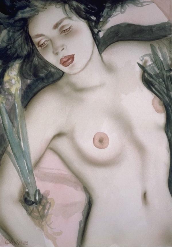 Пинап от художника Olivia De Bernardis (549 работ) (549 фото)