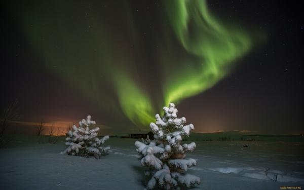 Северное сияние (73 фото)