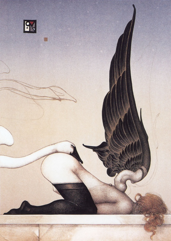 Фантастический арт от Michael Parkes (163 фото)