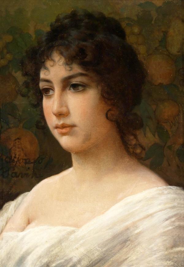 Итальянский художник Alfonso Savini (1836–1908) (19 фото)