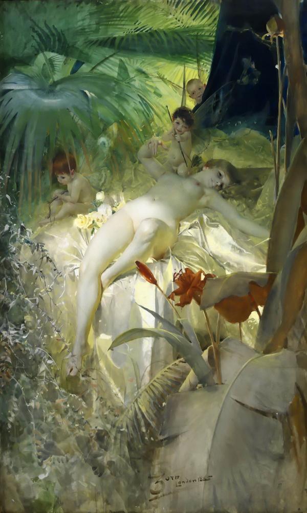 Современная Ева (315 работ)