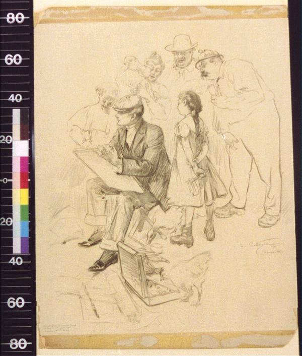 Французский художник и иллюстратор Andre Castaigne (88 работ)