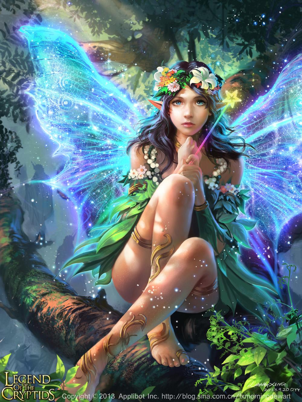 Fantasy fairy art adult photo