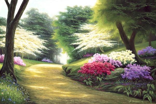 Красивые картины художника Egidio Antonaccio (89 фото)