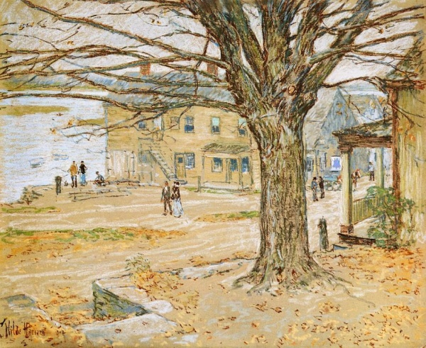 Frederick Childe Hassam (1859 – 1935) (1 часть) (425 фото)