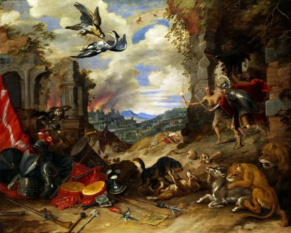 Фламандская живопись: Ян Брейгель Младший (111 фото)