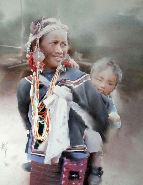 Художник Liu Yi (166 фото)