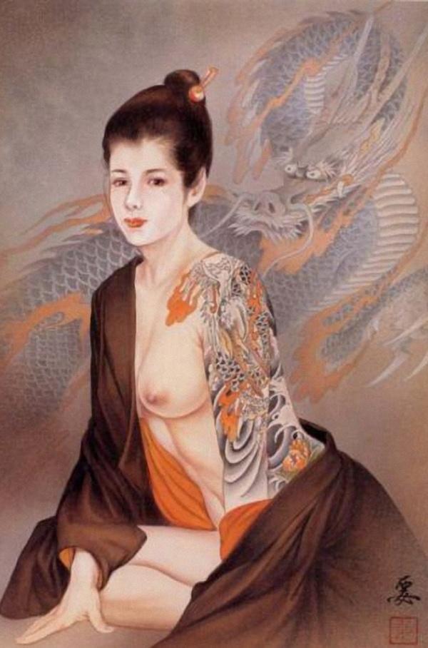 Ozuma Kaname Tattoo Art (101 фото)