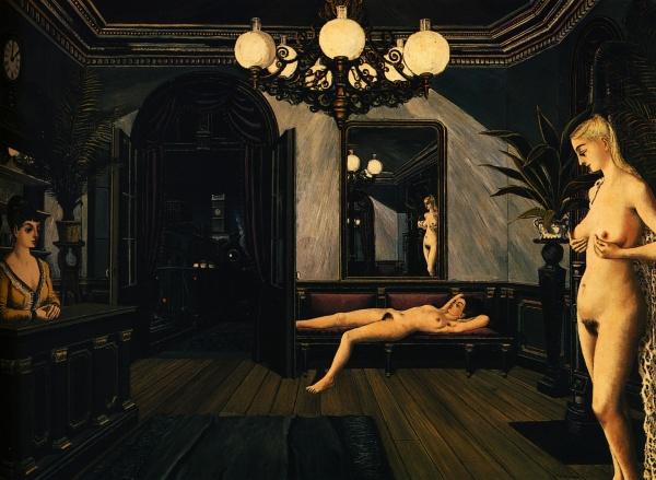 Paul Delvaux (100 фото)