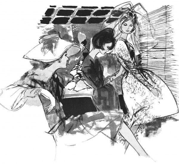 Retro Magazine illustrations 3 (130 фото)