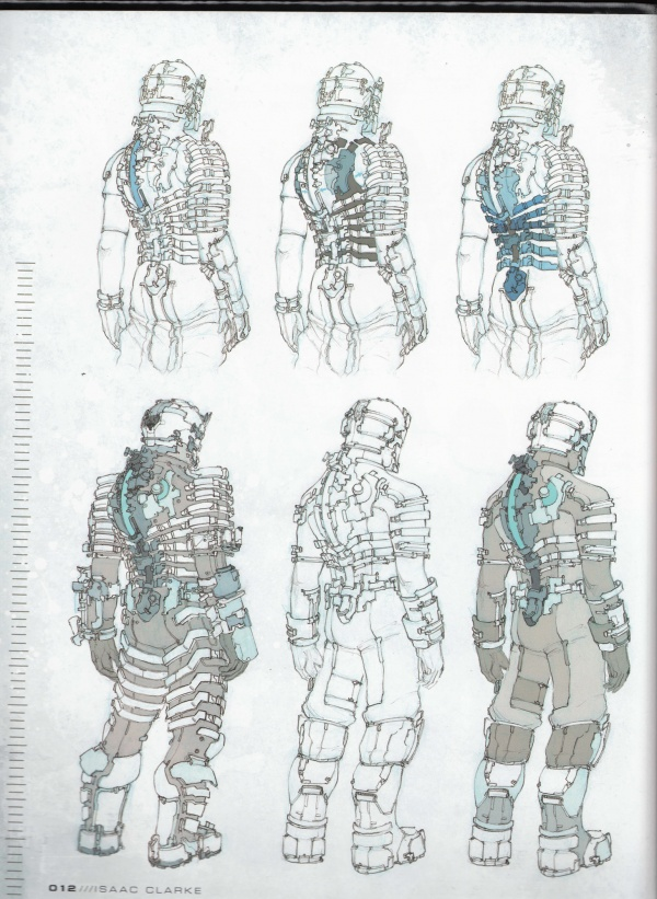 The Art of Dead Space ( Artbook) (194 фото)