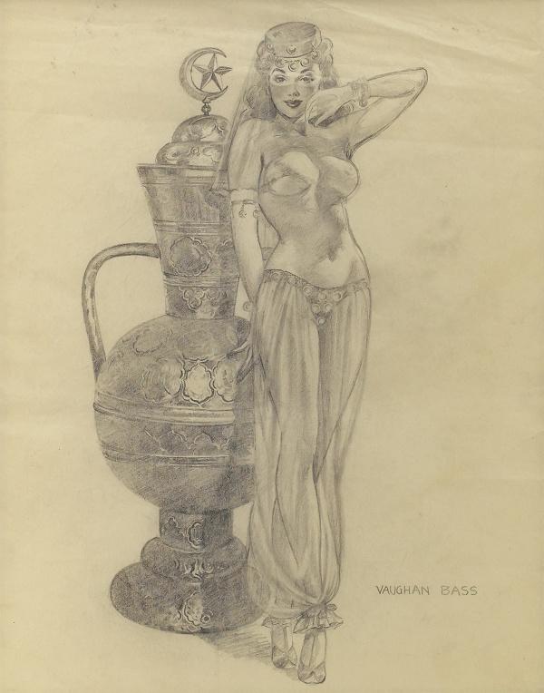 Коллекция работ американского художника Vaughan Alden Bass (60 фото)