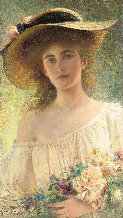 Перуанский художник и иллюстратор Albert Lynch (1851-1912)