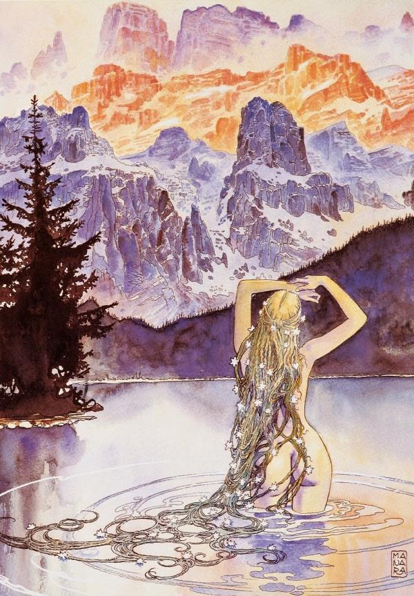 Легендарный итальянский художник Мило Манара (Milo Manara) (367 фото) (эротика)