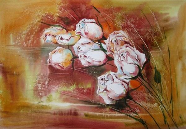 Болгарская художница Veneta Docheva (60 фото)