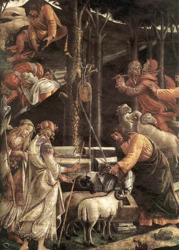 Сандро Боттичелли (1445-1510) (1 часть) (55 фото)
