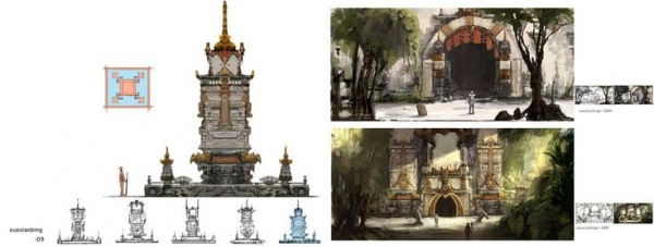 Concept Art Collection p.1 (1994 фото)