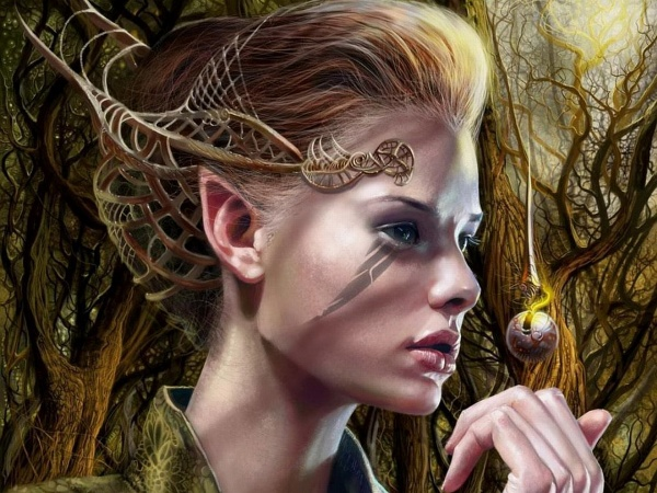 Digital Art - Elves (60 работ)