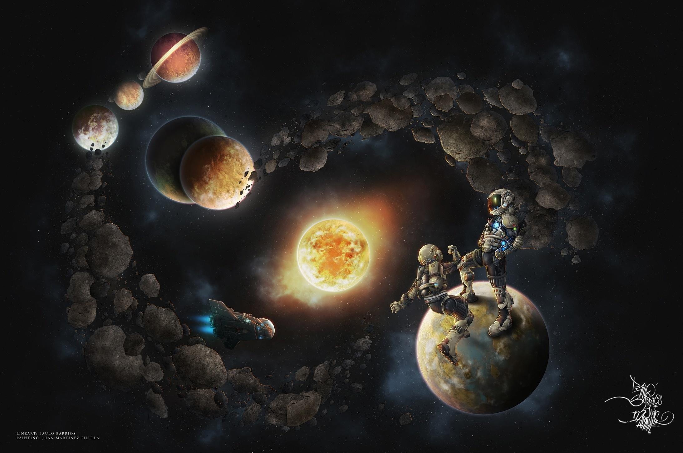 идет фантастические картинки планет солнечной системы диваны