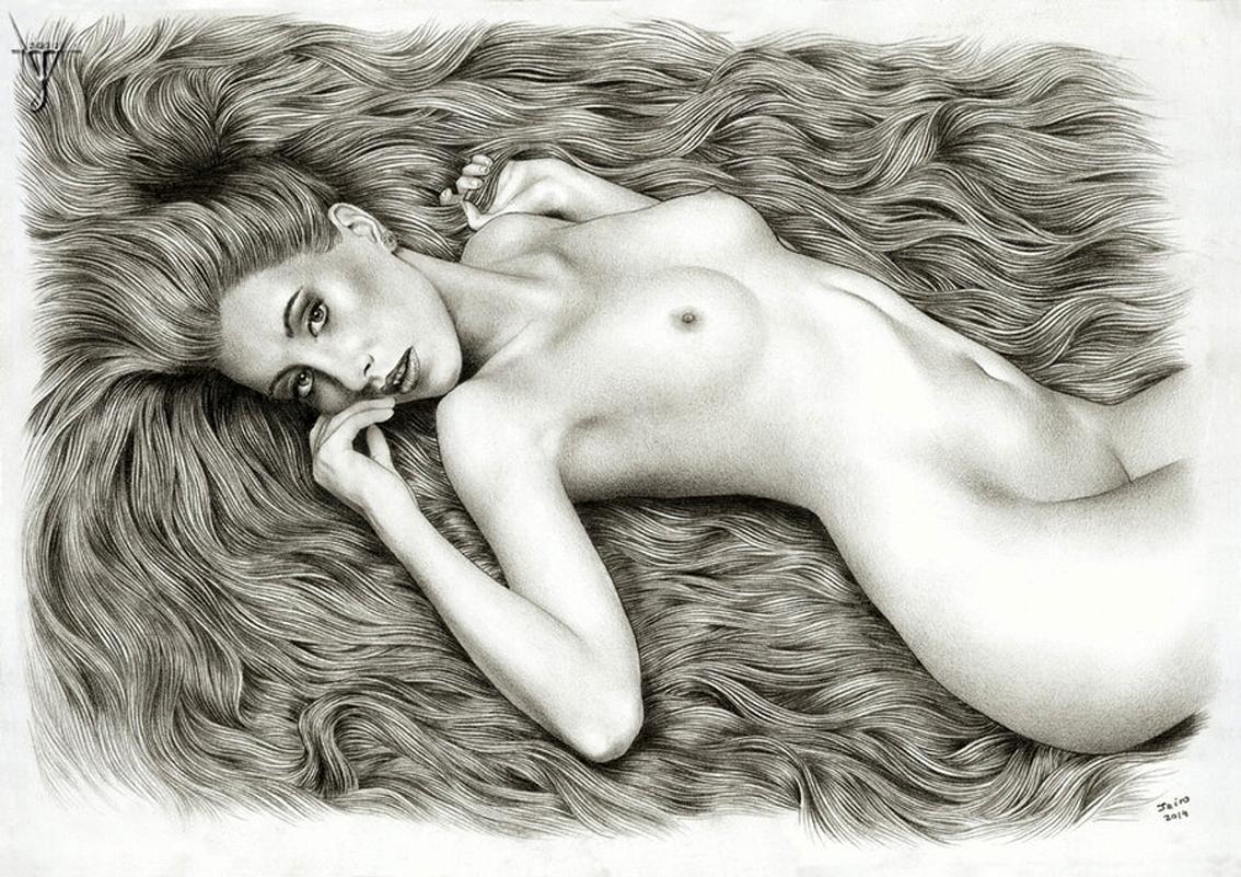 Nude Pencil Drawings