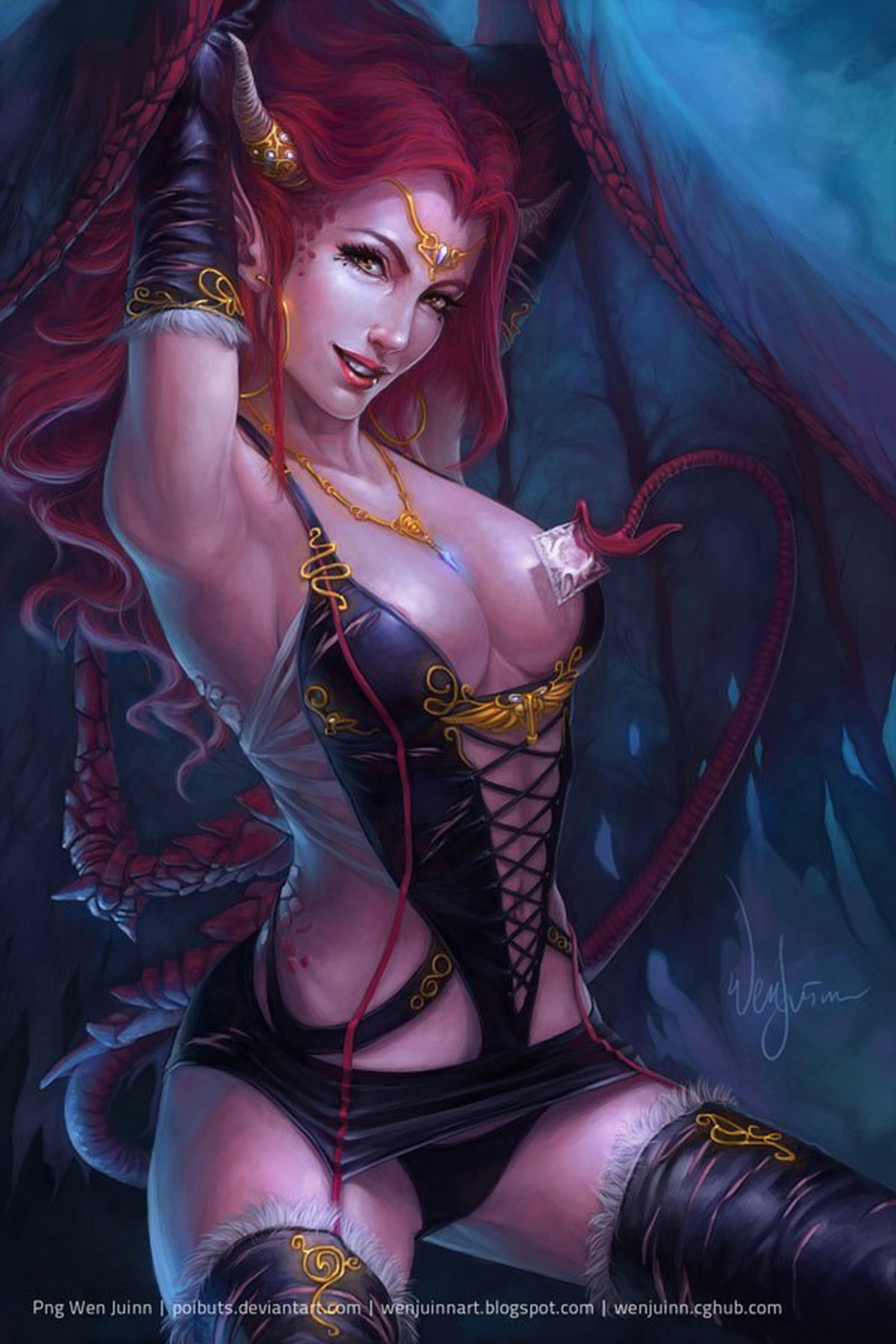 Redhead fantasy art sex nude curly sluts