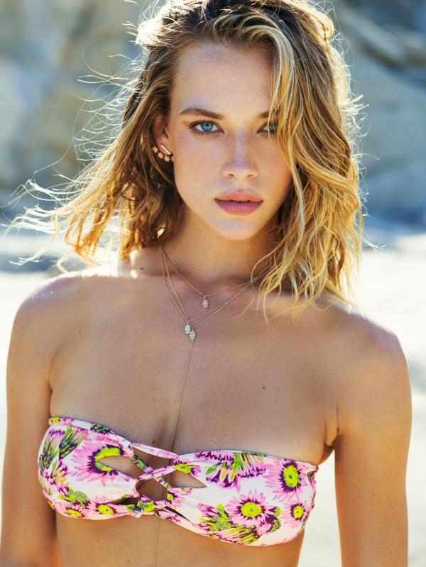 Hannah Ferguson - Tori Praver Swimwear 2016