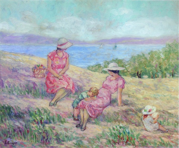 Henri Lebasque (687 работ)